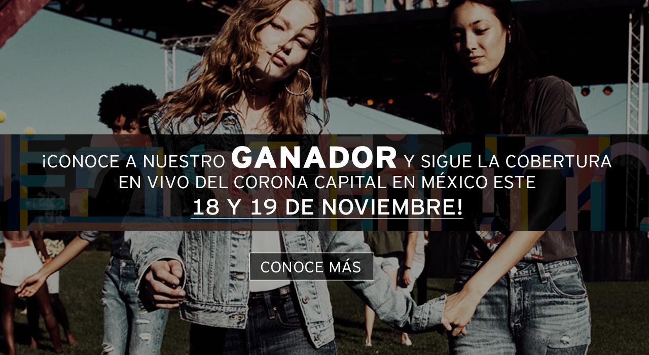 conoce a nuestro ganador y sigue la cobertura en vivo del corona capital en méxico este 18 y 19 de noviembre