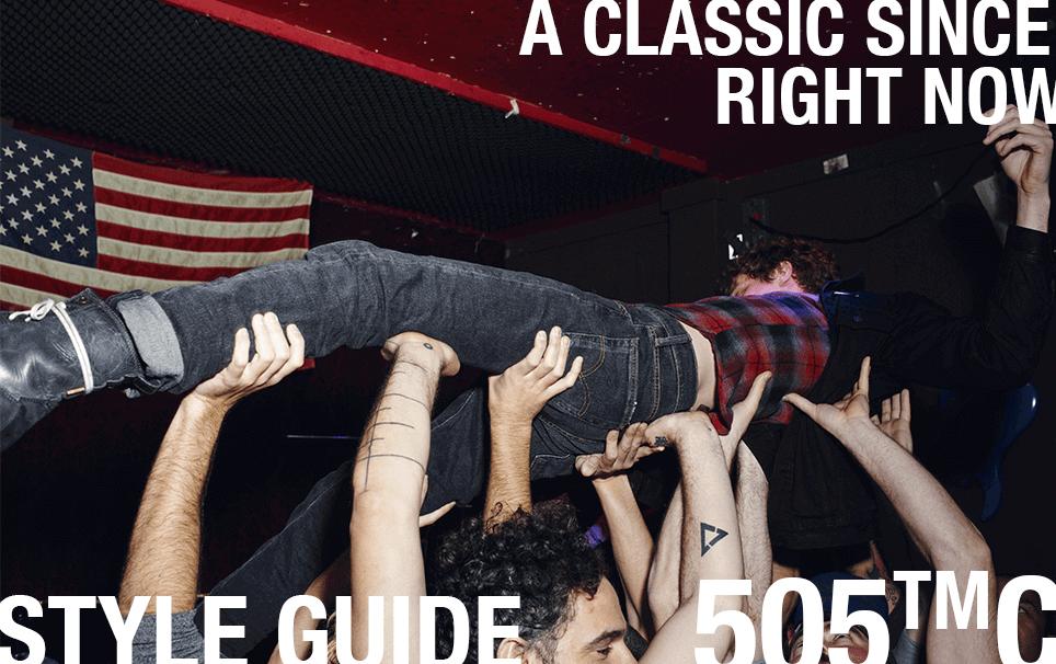 style guide 505™c denim jeans levi's