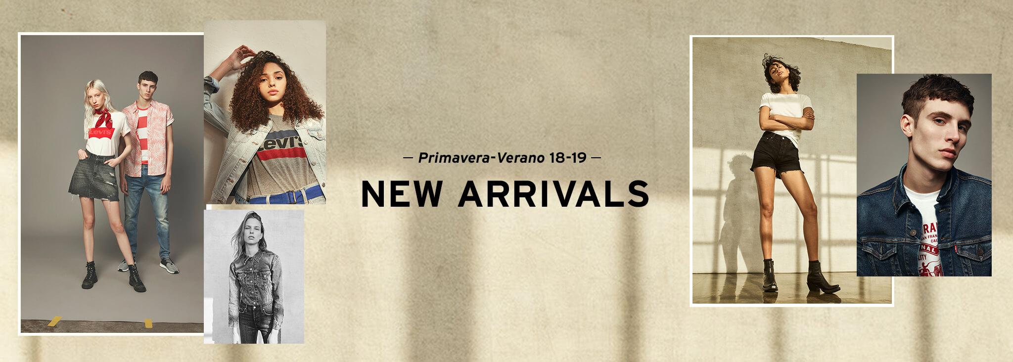 New arrivals 2018 primavera verano hombre y mujer levis