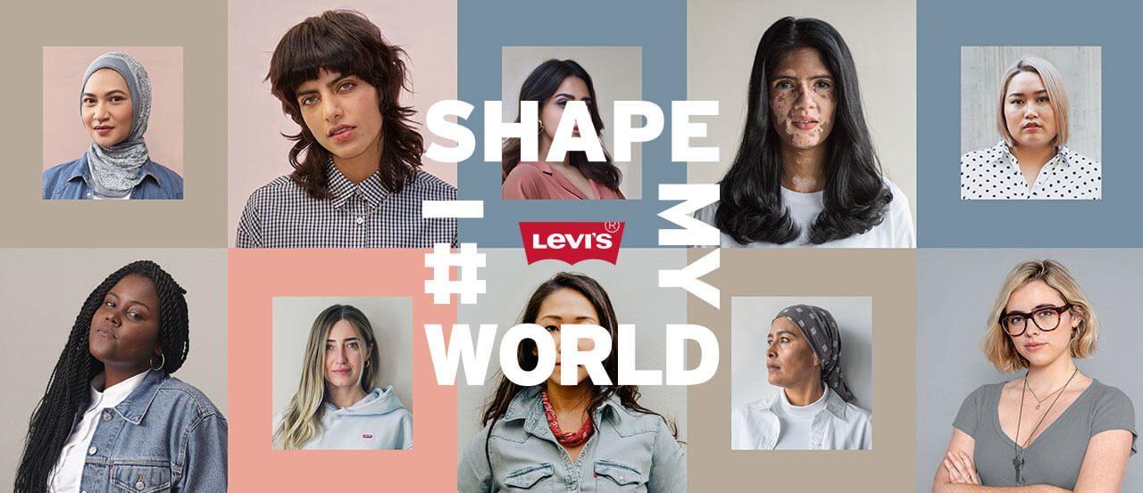 I SHAPE MY WORLD LEVIS