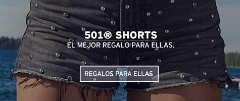 501 shorts el mejor regalo para ellas levis